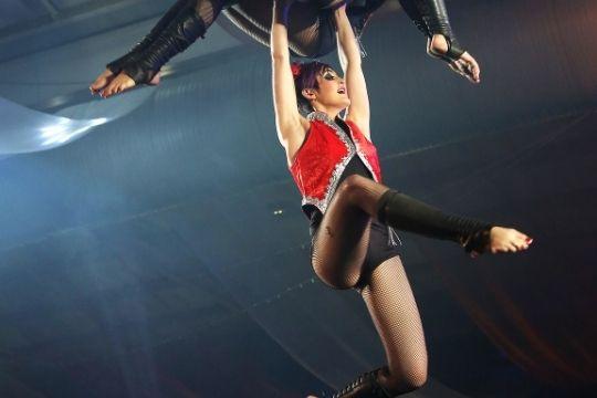 circo holiday acrobata