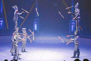 show del circo Alegria