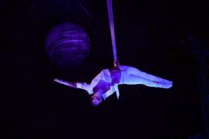 acóbatas del circo stellar