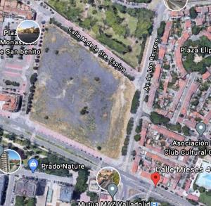 donde está el circo holiday en Valladolid